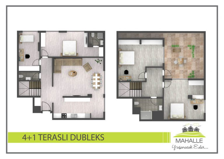 4+1 Mahalle Residences Antalya