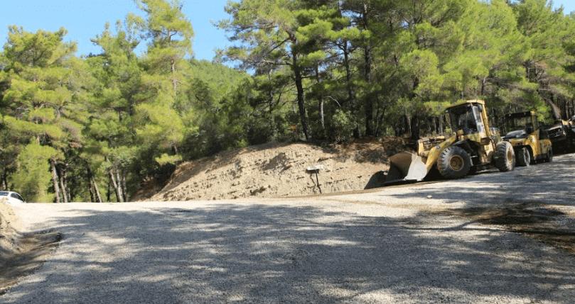 Road Map to Tazi Canyon