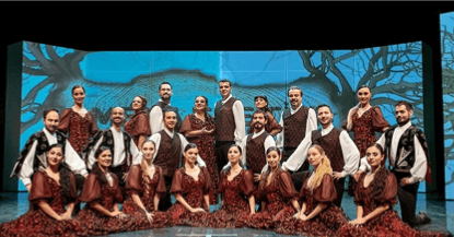 A group from Antalya State Opera and Ballet