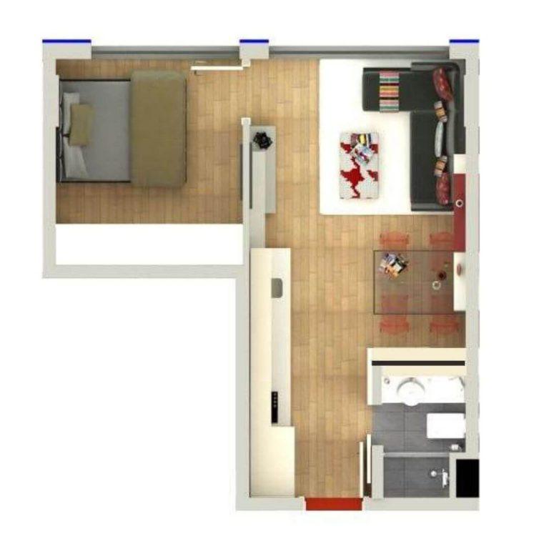 Floor Plan of Antalya Residence 2