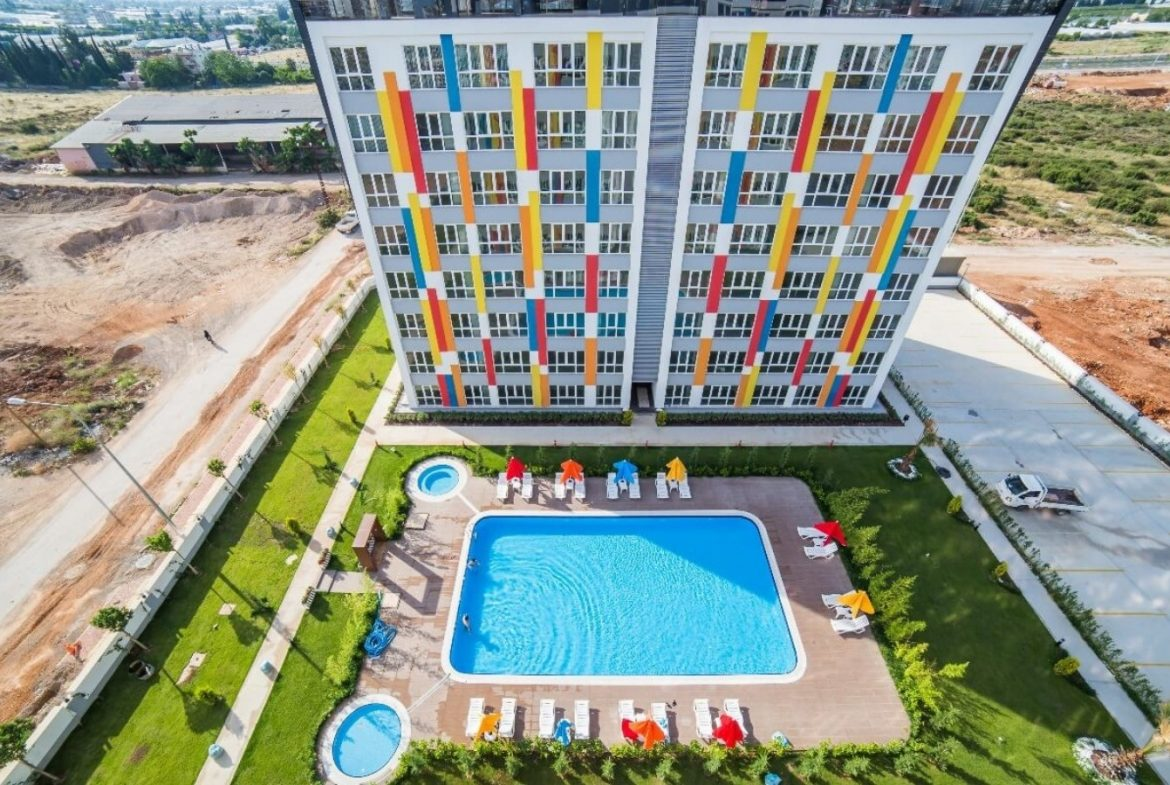 Hotel concept 1+1 apartments for sale in Antalya near Airport 1